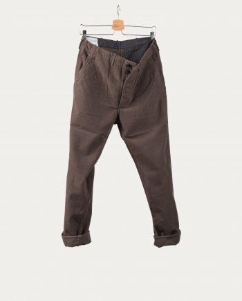 """1ST PAT-RN """"Pantalon Moleskine Kaki"""""""