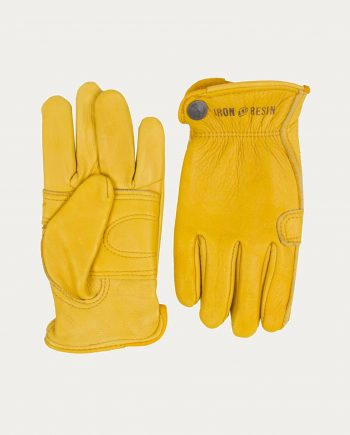 gants jaunes iron resin