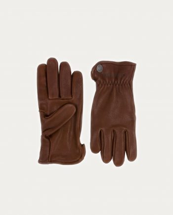 Gants Herschell Buffle Marron