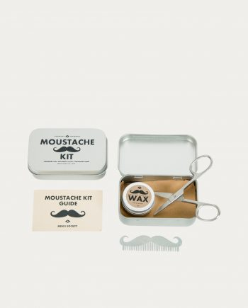 "Kit de Voyage ""Moustache Grooming"" Men's Society"