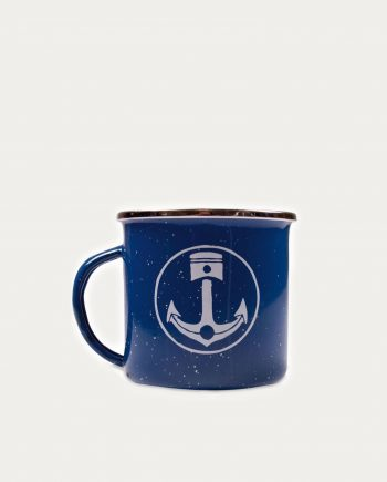 Mug Iron & Resin Bleu