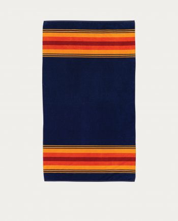 "Serviette de bain et de plage Pendleton ""Navy Grand Canyon"""