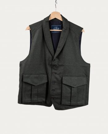 the_great_sartorial_gilet_green_popeline