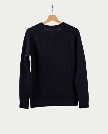 knowledge_cotton_apparel_pull_col_rond_laine_bleu_3