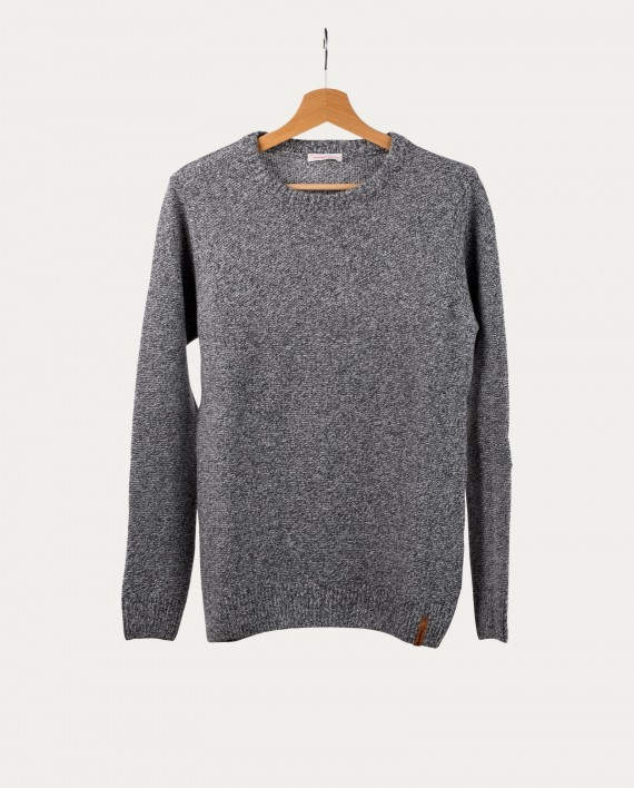 knowledge_cotton_apparel_pull_gris_chine