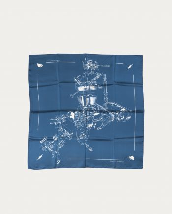 a_piece_of_chic_foulard_soie_70_70_blue_print