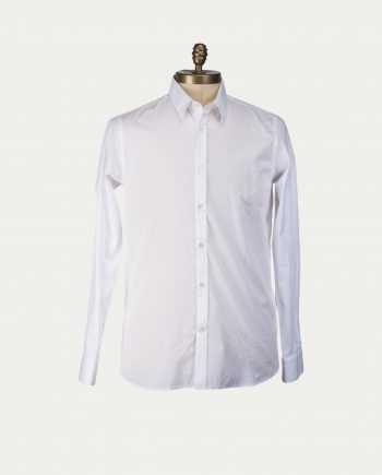 Tonsor Cie Chemise Blanche Col Italien