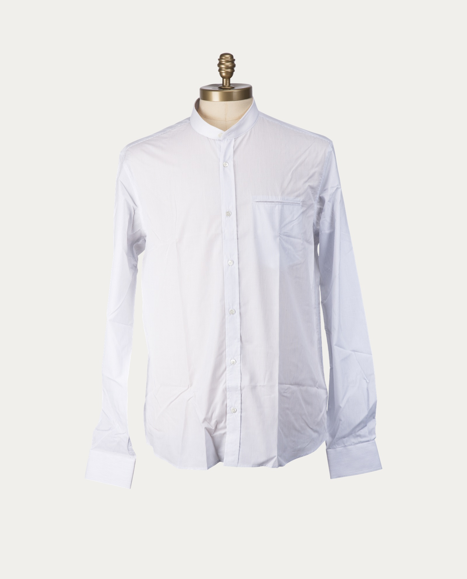 tonsor_cie_chemise_blanche_rayures_col_officier