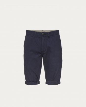 knowledge_cotton_apparel_shorts_narrow_striped_gots