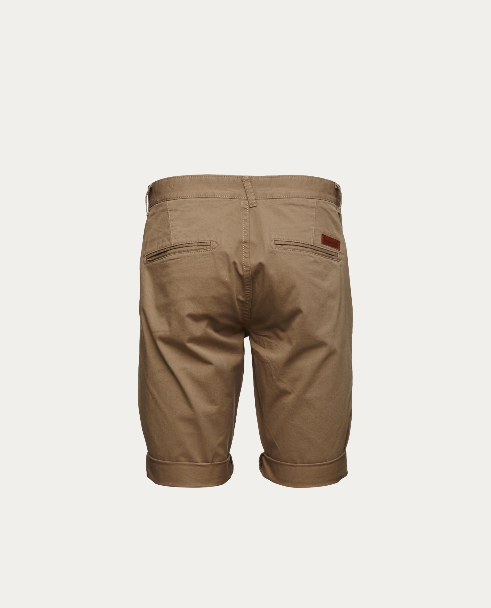 knowledge_cotton_apparel_shorts_twisted_twill_beige_1