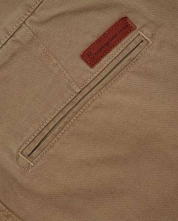 knowledge_cotton_apparel_shorts_twisted_twill_beige_3
