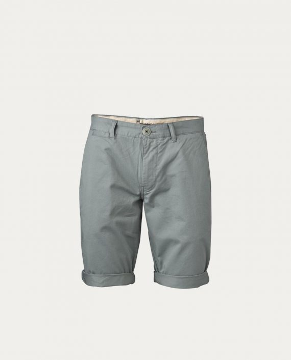 knowledge_cotton_apparel_shorts_twisted_twill_gris