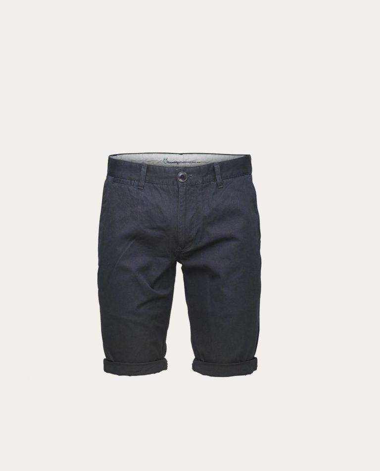 knowledge_cotton_apparel_shorts_twisted_twill_phantom