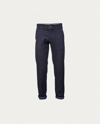 knowledge_cotton_apparel_twill_pant_patch_pocket_total_eclipse