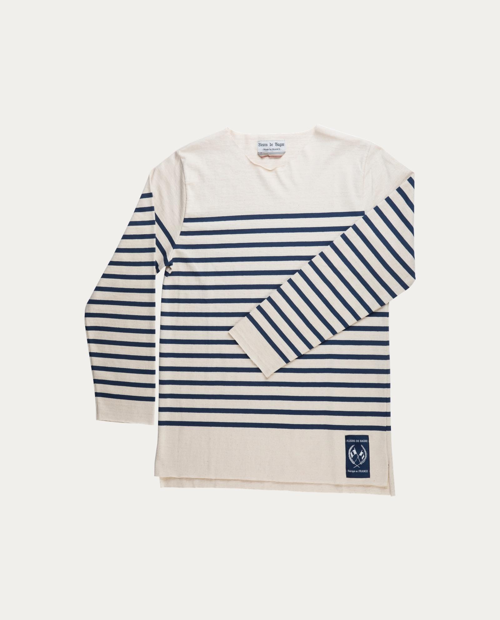 Fleurs De Bagne Tee Shirt Mariniere Toulon Concept Store