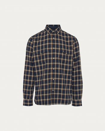 chemise carreaux knowledge cotton apparel
