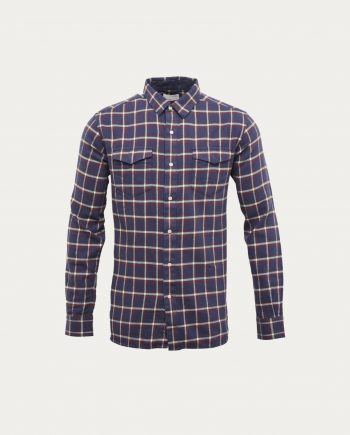 knowledge_cotton_apparel_chemise_flanelle_checked