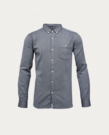 knowledge_cotton_apparel_chemise_flanelle_twill_shirt