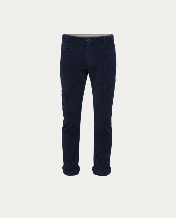 knowledge_cotton_apparel_chino_velours_wales_corduroy_bleu