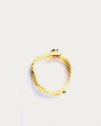el_guerrero_bracelet_tresse_jaune