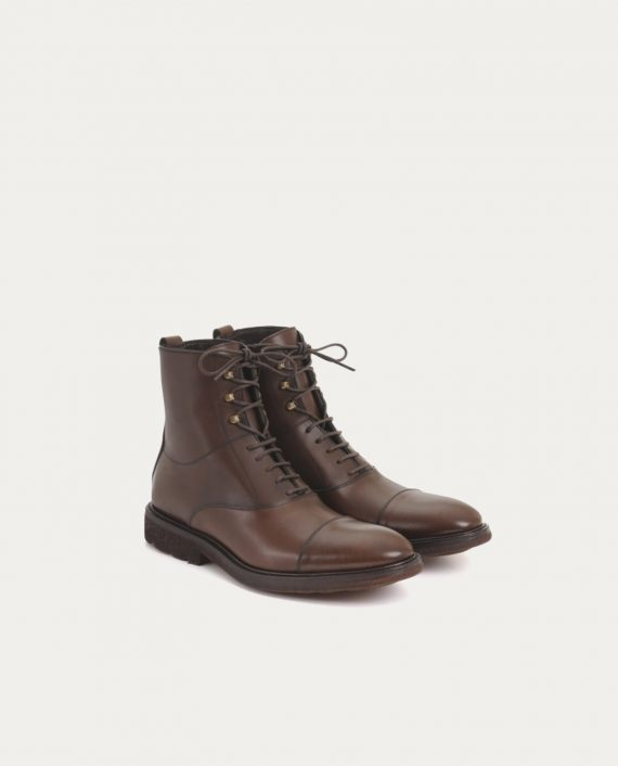leon_flam_bottines_cap_juby_marron
