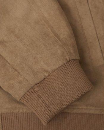 knowledge_cotton_apparel_blouson_suede_jacket_beige_2