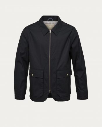 knowledge_cotton_apparel_blouson_waxed_jacket_total_eclipse