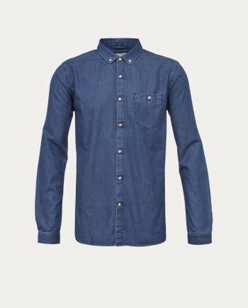 knowledge_cotton_apparel_chemise_denim_shirt