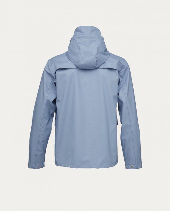 knowledge_cotton_apparel_rain_jacket_bleu_ciel_1