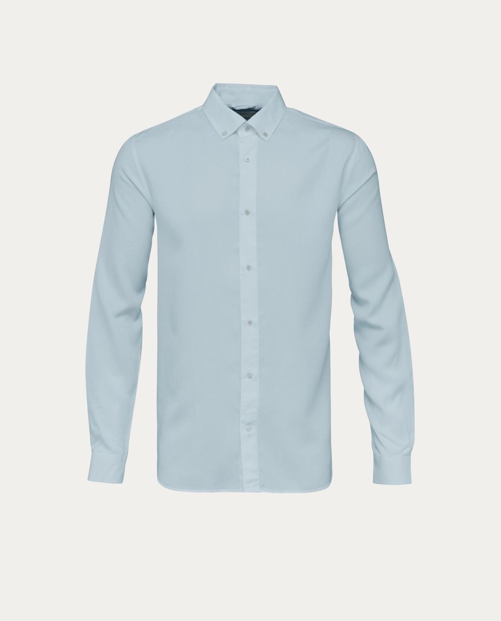 knowledge cotton apparel chemise tencel shirt concept store barbier coiffeur pour l 39 homme. Black Bedroom Furniture Sets. Home Design Ideas