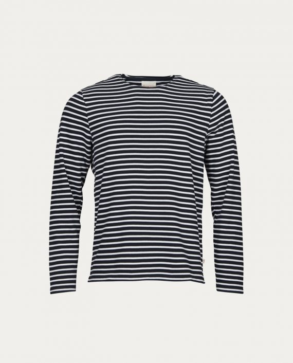 knowledge_cotton_apparel_sweat_yarndyed_striped