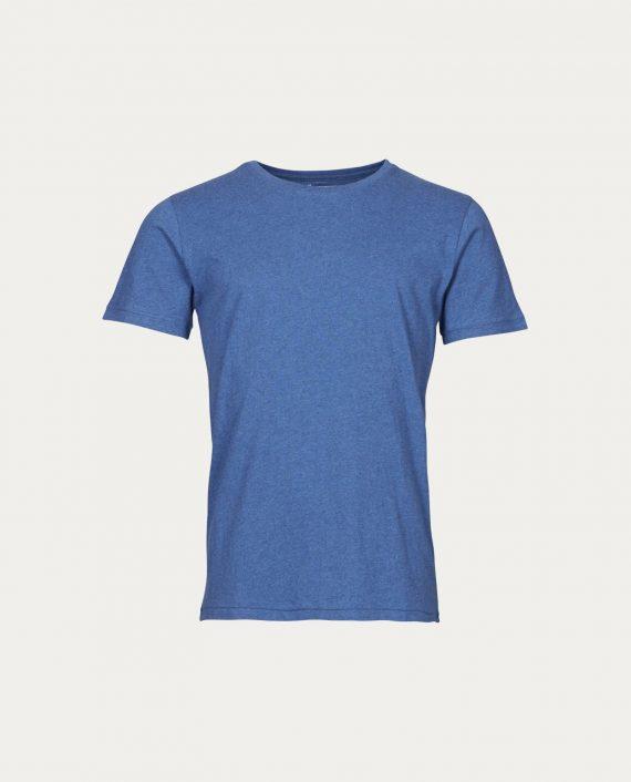 knowledge_cotton_apparel_t_shirt_basic_regular_fit_bleu