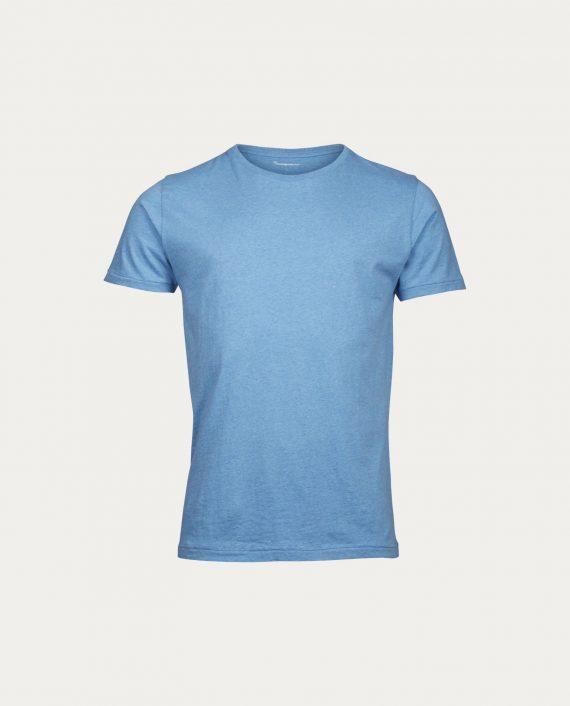 knowledge_cotton_apparel_t_shirt_basic_regular_fit_bleu_clair