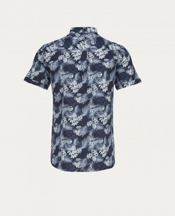 knowledge_cotton_apparel_chemise_all_over_printed_1