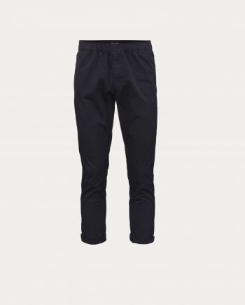 knowledge_cotton_apparel_loose_pant_bleu