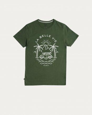 step_art_tee_shirt_la_vie_est_belle_vert_foret