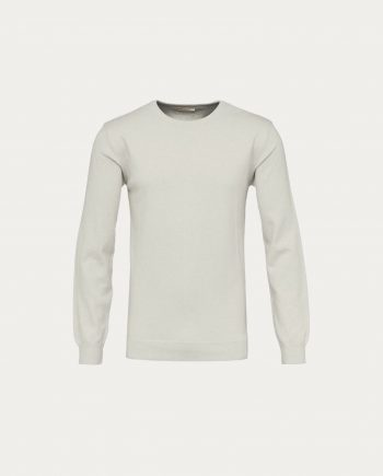 knowledge_cotton_apparel_basic_o_neck_blanc