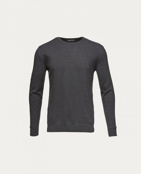 knowledge_cotton_apparel_basic_o_neck_gris