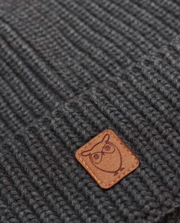 knowledge_cotton_apparel_bonnet_gris_1