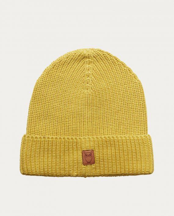 knowledge_cotton_apparel_bonnet_jaune
