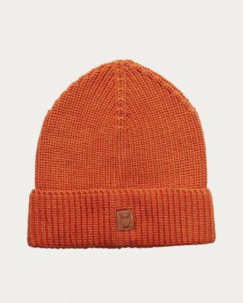 knowledge_cotton_apparel_bonnet_orange