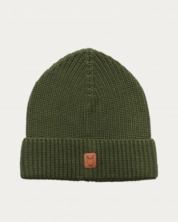 knowledge_cotton_apparel_bonnet_vert