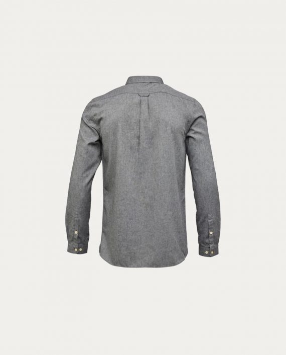knowledge_cotton_apparel_melange_effect_flannel_shirt_gris_1