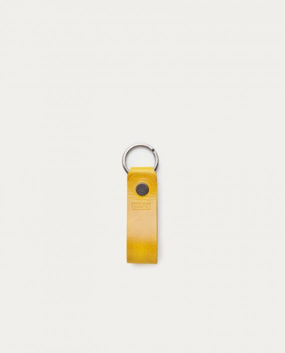 cafe_leather_key_chain_honey_mustard