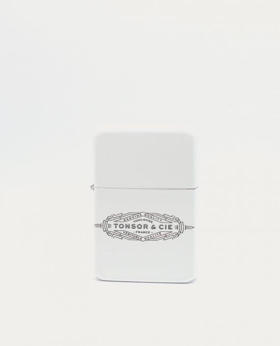tonsor_cie_briquet_blanc_logo_art_deco