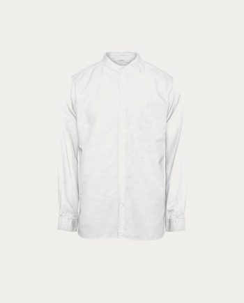 tonsor_cie_knowledge_cotton_apparel_chemise_cotton_linen_stand_collar_blanche