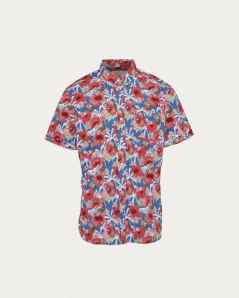 tonsor_cie_knowledge_cotton_apparel_light_poplin_shirt_short_sleeved _GOTS_Vegan
