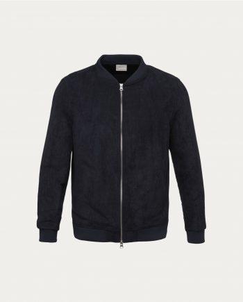 tonsor_cie_knowledge_cotton_apparel_suede_jacket_marine