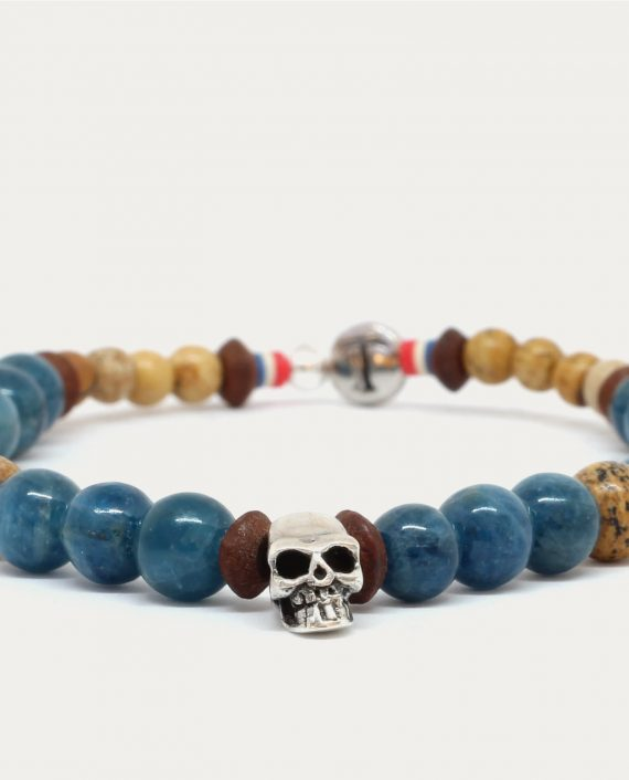 tonsor_cie_bracelet_tete_de_mort_bleu_1