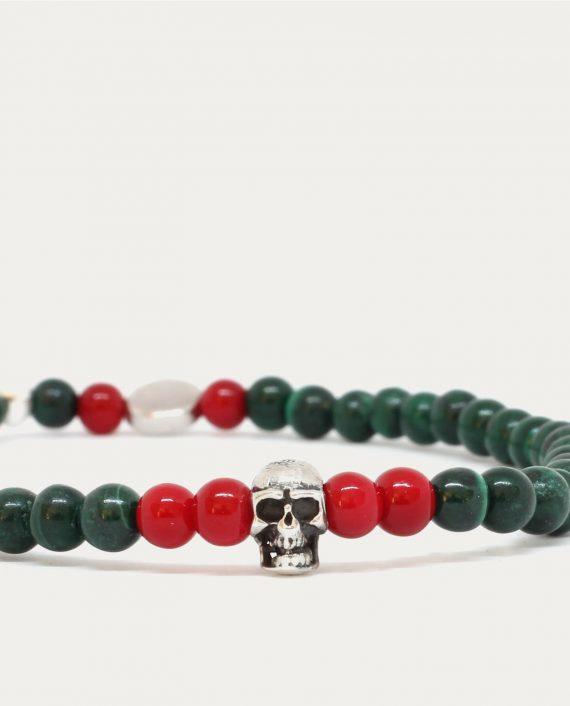 tonsor_cie_bracelet_tete_de_mort_vert_rouge_3